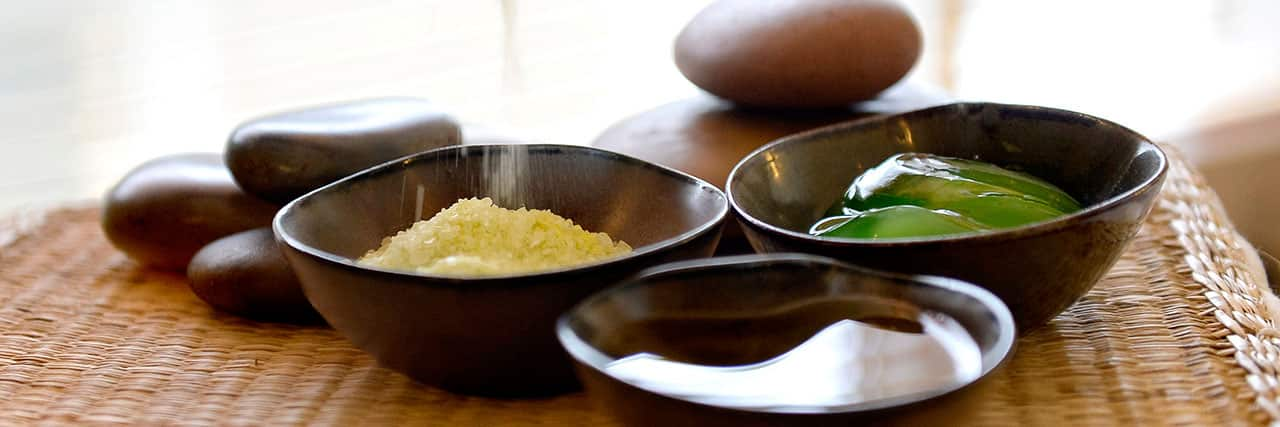 Spa Product in Bowls